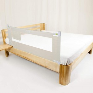 Baby Bed Rail, Portable Folding Bed Guard Kids Child Toddlers Safety Side Rail Heigh Adjustable with Lockable Buckle 150cm x 68cm